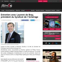 Entretien avec Laurent de Bray, président du Syndicat de l'éclairage - 10/09/16