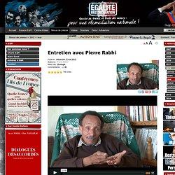 Entretien avec Pierre Rabhi