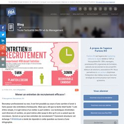 Mener un entretien de recrutement efficace!