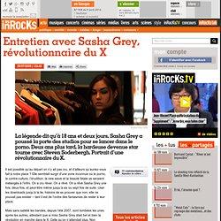 Entretien avec Sasha Grey, révolutionnaire du X