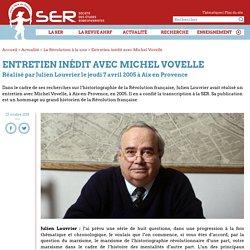 Entretien inédit avec Michel Vovelle - Société des Études Robespierristes