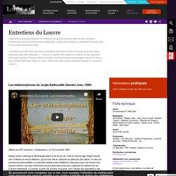 [FR] Entretiens avec des historiens d'art - vidéos / Louvre