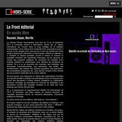 Hors-Série - Le front éditorial (Hazan, Norrito, Bussoni)