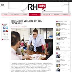 Entretiens annuels et management de la performance