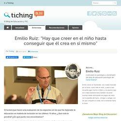 Entrevista a Emilio Ruiz