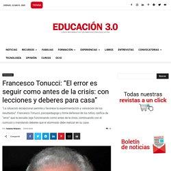 Entrevista a Francesco Tonucci