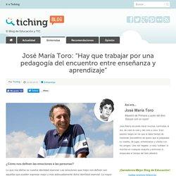 Entrevista a José María Toro