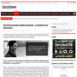 Entrevista de archivo a Simone de Beauvoir - El segundo sexo 25 años después