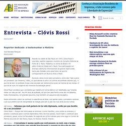 Entrevista – Clóvis Rossi