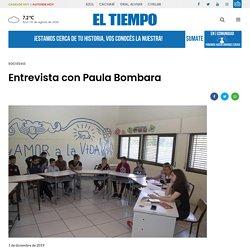 Entrevista con Paula Bombara