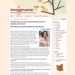 Entrevista con María Cristina Ramos - Imaginaria No. 175 - 1 de marzo de 2006