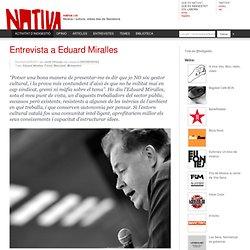 Entrevista a Eduard Miralles