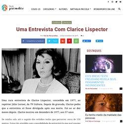 Uma entrevista com Clarice Lispector - Fãs da Psicanálise