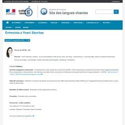 """Espagnol - Vidéo """"Entrevista a Yoani Sánchez"""" (académie de Toulouse)"""
