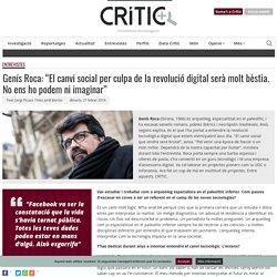 Entrevista a Genís Roca, arqueòleg i expert en tecnologia