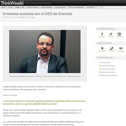 Entrevista exclusiva con el CEO de Evernote