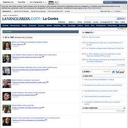 Todas las entrevistas de La Contra de La Vanguardia - LaVanguardia.es