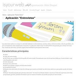 """Aplicación """"Entrevistas"""""""