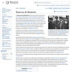 Entrevue de Montoire