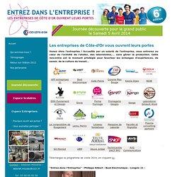 ENTREZ DANS L'ENTREPRISE ! Les entreprises de Bourgogne ouvrent leurs portes (26-27 Mars 2010)