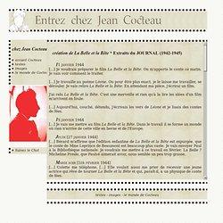 Entrez chez Jean Cocteau : journal 42-45