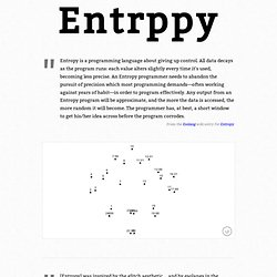 Entropy - andrew-hoyer.com