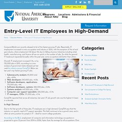 Entry-Level IT Employees In High-Demand - NAU