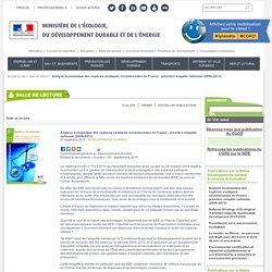 MEDDE 21/09/15 Analyse économique des espèces exotiques envahissantes en France : première enquête nationale (2009-2013)