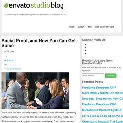 Social Proof, and How You Can Get Some