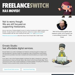 Getting Started as a Freelancer | FreelanceSwitch
