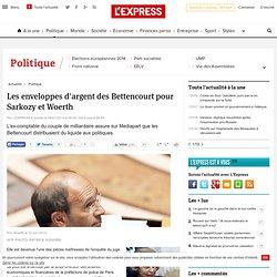 Les enveloppes d'argent des Bettencourt pour Sarkozy et Woerth -