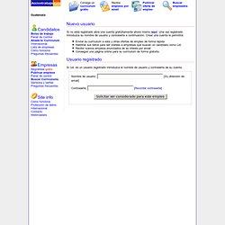 Enviar Currículum para el empleo de