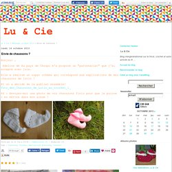 Chaussons lutin