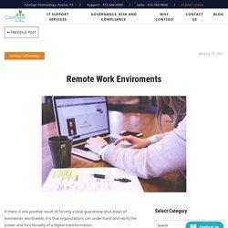 Remote Work Enviroments