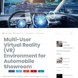 Multi-User Virtual Reality (VR) Environment for Automobile Showroom