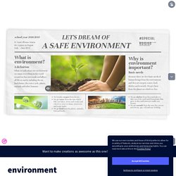 environment by arix on Genially