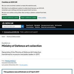 Ministry of Defence | About Defence | What we do | Defence Estat