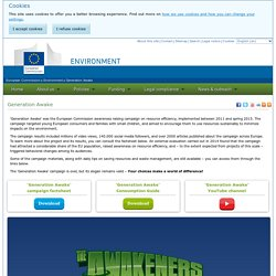 Environment - European Commission - Generation Awake