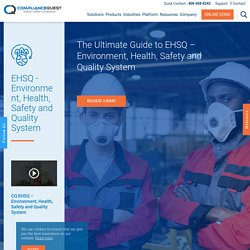 Environment Health Safety and Quality - EHSQ