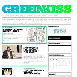GREENKISS | WE SUPPORT ENVIRONMENT BY ENTERTAINMENT