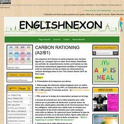 CARBON RATION environment environnement