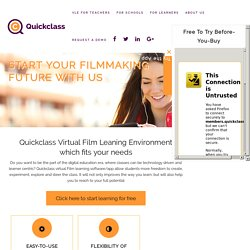 Virtual Learning Environment to Study Filmmaking Online - Qc Apps