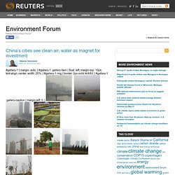 Environment Forum | Analysis & Opinion |