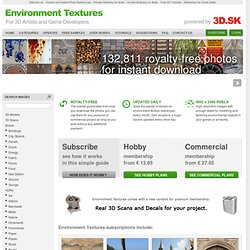 Environment Textures - High Resolution Textures for 3D artists and Game Developers