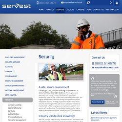 A Safe, Secure Environment - Security Services