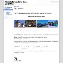 Environment - Teaching CLIL