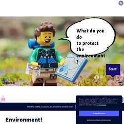 Environment! by WOW.EDU.PL on Genially