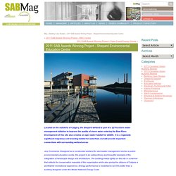 2011 SAB Awards Winning Project - Shepard Environmental Education Centre