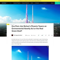 Eco Porn: Are Wuhan's Phoenix Towers an Environmental Novelty Act or the Real Green Deal?