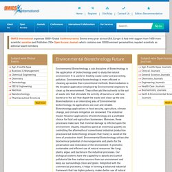 Journal Of Petroleum And Environmental Biotechnology